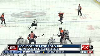 Condors flying the nest for a three game roadtrip