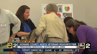 Howard County hosts veterans and military families resource fair