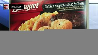 Banquet chicken nugget meals recalled - Video