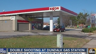 Suspect sought in Dundalk double shooting - Video