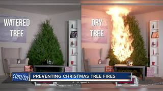 Milwaukee Fire Department offers tips to prevent Christmas tree fires - Video