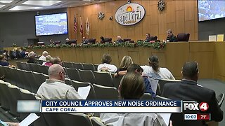 Cape Coral City Council approves new noise ordinance