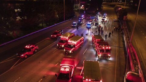 Protester Hit By Car On Closed Freeway Dies Of Injuries