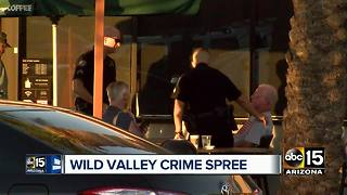 DPS: Accused carjacking suspect in Scottsdale involved in crash - Video