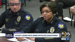 Study to look into spike of officer-involved shootings in Phoenix