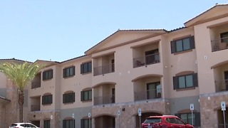 Affordable apartment complex for veterans opens in Las Vegas - Video