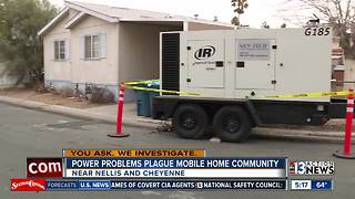 Power problems plague mobile home community - Video