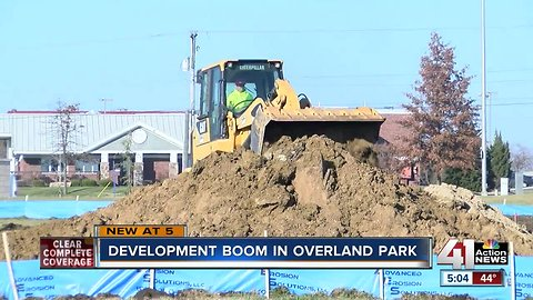 Overland Park seeing biggest development boom in nearly two decades