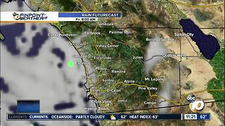 10News Pinpoint Weather with Meteorologist Kalyna Astrinos - Video