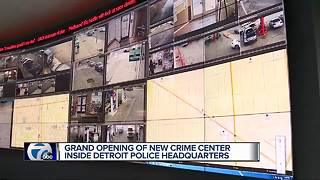 Detroit Police open new Real Time Crime Center - Video