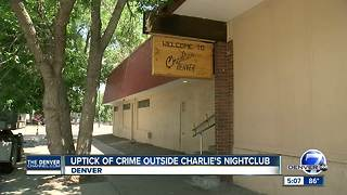Uptick of crime outside Charlie's nightclub - Video