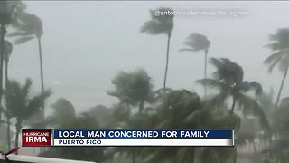 Local man in constant contact with family in Puerto Rico - Video