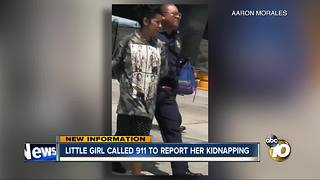 Little girl called 911 to report her kidnapping