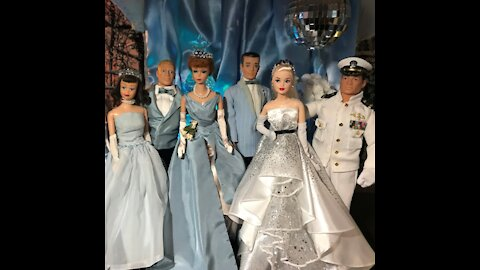 Happy New Year's Eve with Barbie and Friends