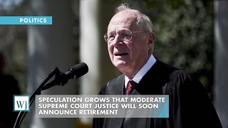 Speculation Grows That Moderate Supreme Court Justice Will Soon Announce Retirement - Video