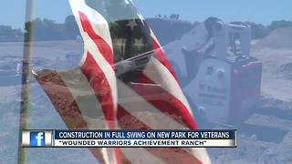 New wounded warrior abilities park taking shape in Pinellas County - Video
