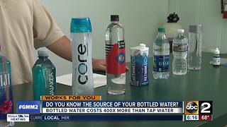 Americans spend $16 billion a year on bottled water - Video