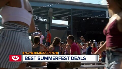 Easy freebies to find at Summerfest
