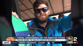 Funeral arrangements set for Sebastian Dvorak - Video