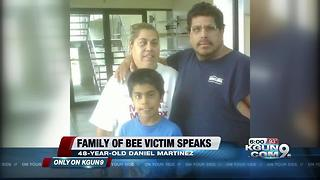 EXCLUSIVE: Brother speaks about tragic bee sting accident - Video