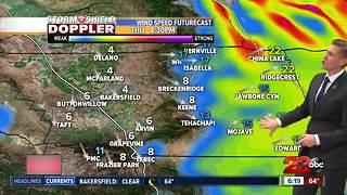 Thursday's cool down brings fall-like temperatures to the valley