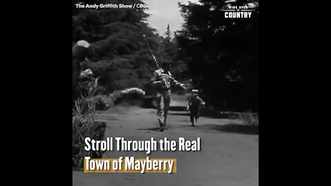 Stroll Through the Real Mayberry from 'The Andy Griffith Show'