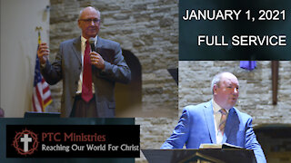 January 1, 2021 | FULL SERVICE | New Years Day