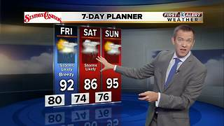 13 First Alert Weather for September 7 2017 - Video