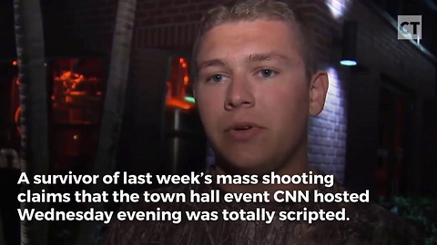 Florida Shooting Survivor Calls Out CNN For Scripted Questions