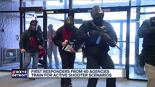 First responders from 40 agencies train for active shooter situations