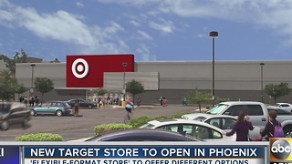 New Target store opens in Phoenix, with different format