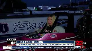 Today is the final day of the 26th annual Hot Rod Reunion - Video