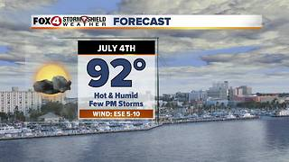 FORECAST: Hot & Humid 4th Of July 7-3 - Video