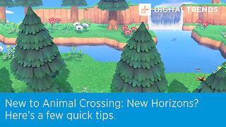 New to Animal Crossing: New Horizons? Here's a few quick tips.