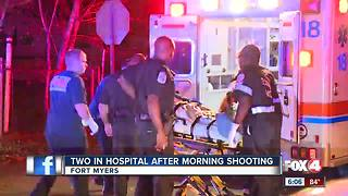 Two people hospitalized after Fort Myers shooting - Video