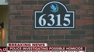 Tulsa Police investigate possible homicide in South Tulsa apartment - Video