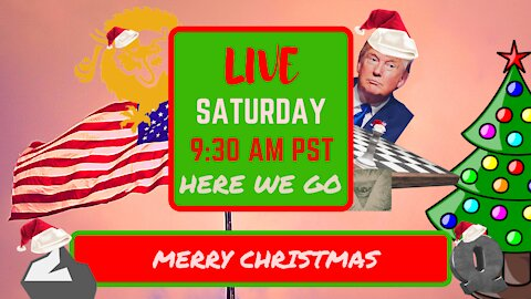 Saturday *LIVE*! Prisons Full, Merry Christmas! Edition