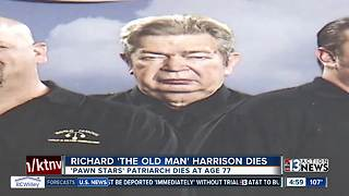 Richard 'The Old Man' Harrison dies after battling Parkinson's Disease - Video