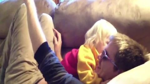 Toddler PROUDLY (& Honorably) Defends Her Dad