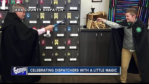 Celebrating local dispatchers with a little magic