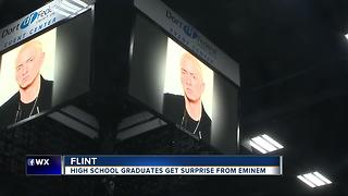 High school graduates get surprise from Eminem - Video
