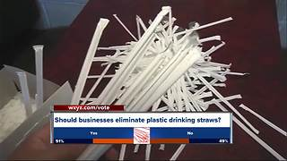 Response to businesses banning straws - Video