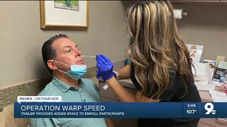 Tucson COVID-19 Vaccine Trial about to hit 'Warp Speed'