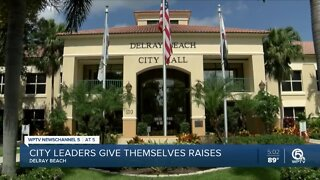 Delray Beach commissioners, mayor give themselves pay raises