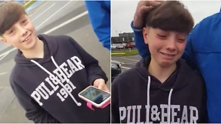 Irish Boy Gets an Awesome Surprise at Airport - Video