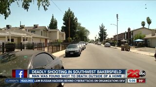 Deadly shooting in Southwest Bakersfield