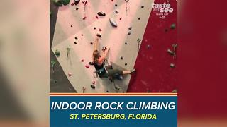 Vertical Ventures in St. Pete offers extreme rock climbing workout for thrill seekers - Video
