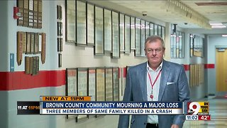 Three family members killed in Brown County crash