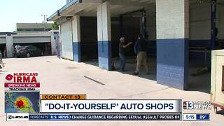 Do-It-Yourself Auto Shops popping up - Video