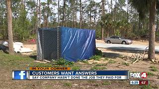 Customers say they paid thousands for a fence they didn't get - Video